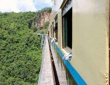 Myanmar, un voyage inoubliable en train