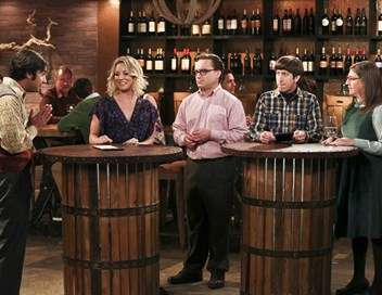 The Big Bang Theory Bernadette va déguster