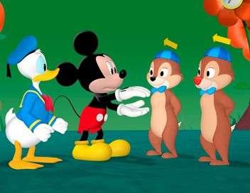 La maison de Mickey Coco, le singe de Dingo