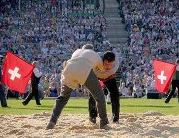 Suisse, les lutteurs portent la culotte