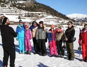 TPMP fait du ski !