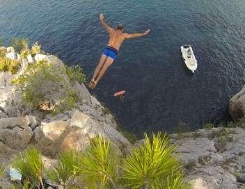 Plongeon de haut vol sur Marseille