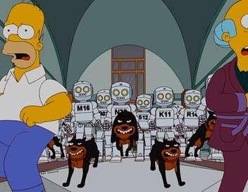 Les Simpson Aïe, robot !