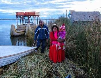 Gens du lac Titicaca Le peuple de la mer des Andes