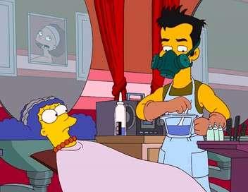 Les Simpson Le bleu et le gris