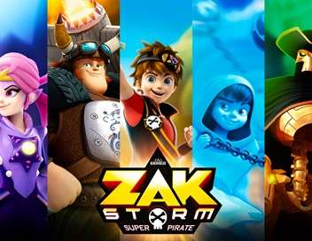 Zak Storm, super pirate Le corps de Calabrass