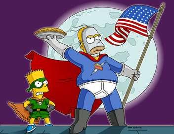 Les Simpson Tarteman, le vengeur masqué