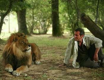 Victor Sauvage La jeune fille et le lion