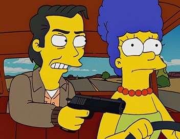 Les Simpson La Marge et le prisonnier