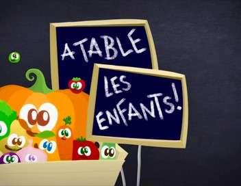 À table les enfants