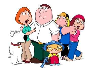 Family Guy Tirer dans le noir