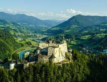 L'Autriche vue du ciel