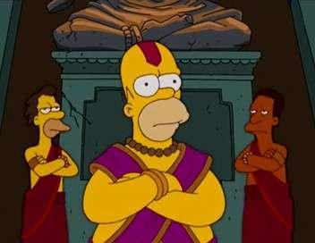 Les Simpson Notre Homer qui êtes un dieu