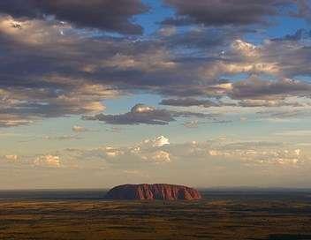 L'Australie rouge et verte Désert