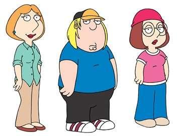 Family Guy Swanson l'a dans le dos