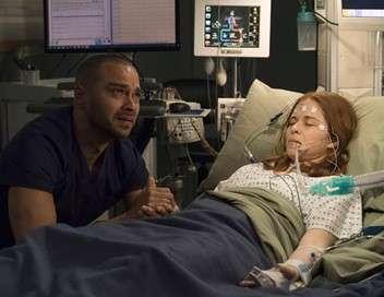 Grey's Anatomy April sauvée des eaux