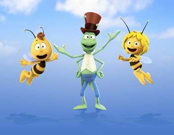 Maya l'abeille 3D Dans le rang