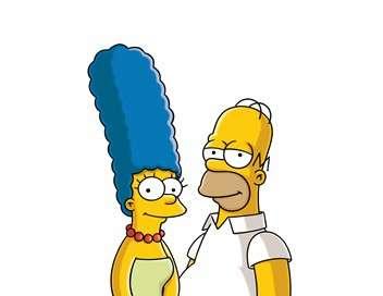 Les Simpson Taxi girl