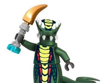 Ninjago : La menace des serpents Rassemblement des serpents